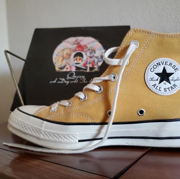 Converse All Star Mustard Yellow High